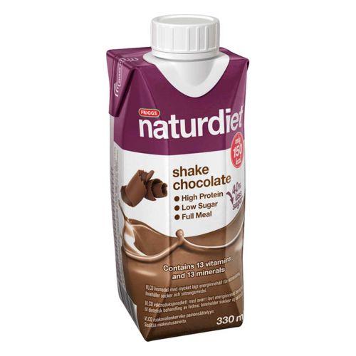 NATURDIET SHAKE SUKLAA 330 ML