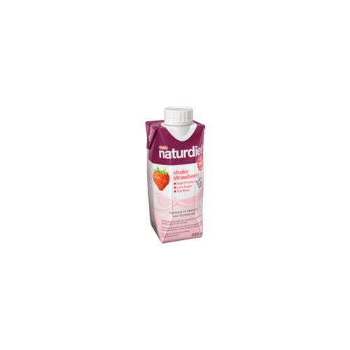 NATURDIET SHAKE MANSIKKA 330ML
