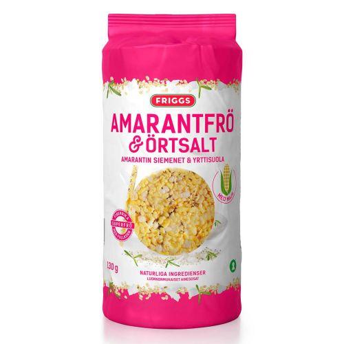 FRIGGS MAISSIKKAKKU AMARANTTI&YRTTISUOLA 130 G