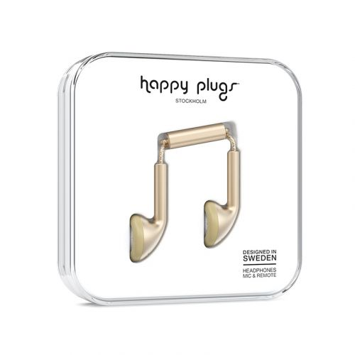 HAPPY PLUGS EARBUD PLUS NAPPIKUULOKKEET CHAMPAGNE