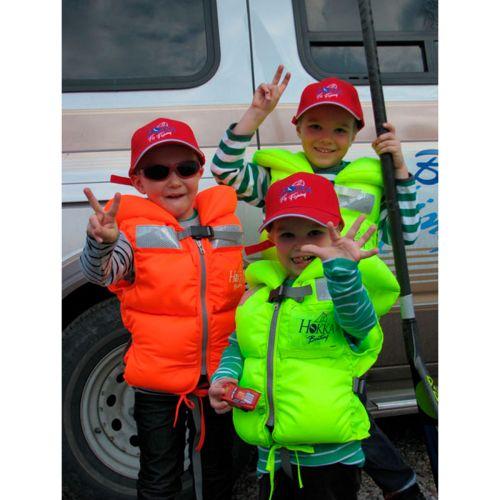 Hokka S Boating 30-50kg pelastusliivi keltainen 100N