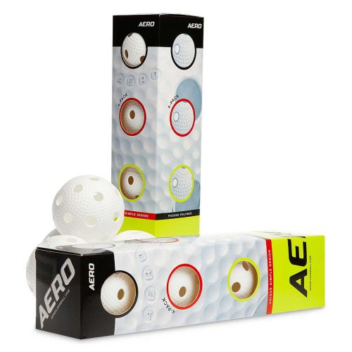SALMING AERO FLOORBALL 4-P WHITE 4-PACK