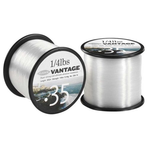 VANTAGE PRO QUARTER POUND CLEAR 0.30MM 12LBS 1296M