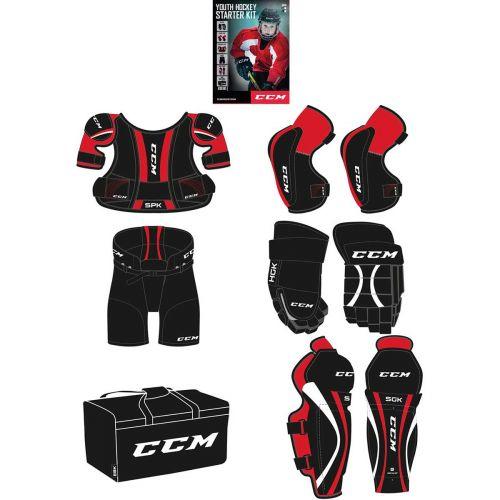 CCM nuorten jääkiekon aloitus varuste setti XL