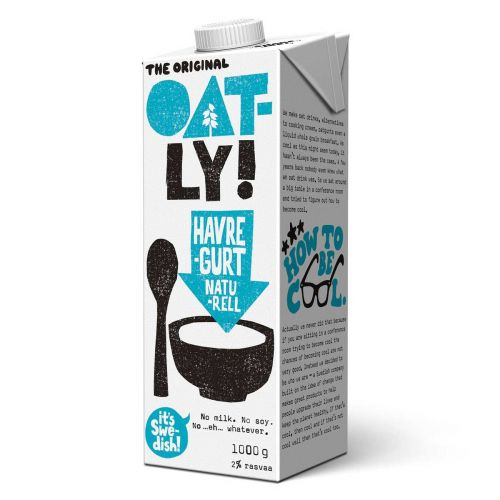 OATLY HAVREGURT NATURELL 1KG