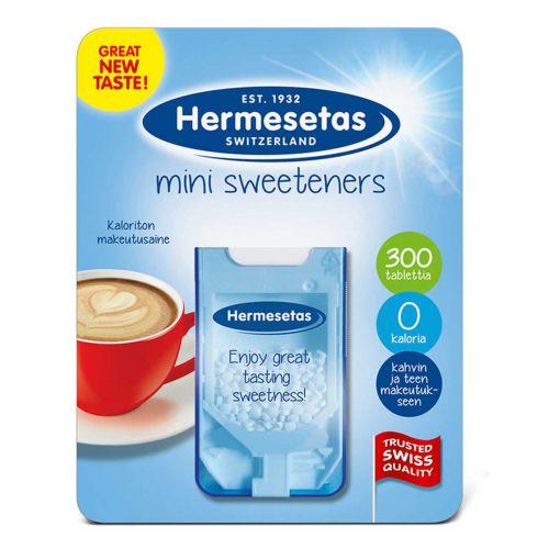 HERMESETAS MINI MAKEUTUSPURISTE 300 KPL