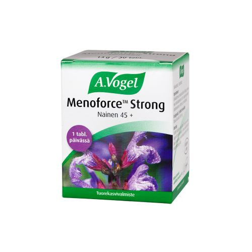 A. VOGEL MENOFORCE STRONG SALVIATABLETTI 30 KPL