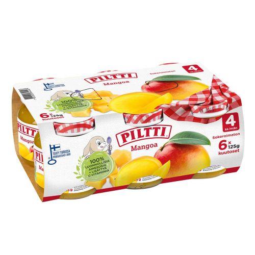 PILTTI MANGO KUUTOSET 4KK 6-PACK 750 G