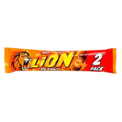 LION PEANUT 2-PACK  60 G