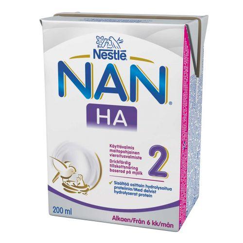 NESTLE NAN H.A. 2 200 ML