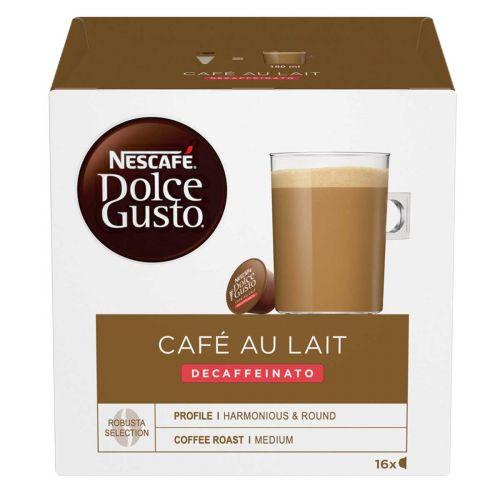 NESCAFE DOLCE GUSTO CAFÉ AU LAIT KOFEIINITON 16 KAPS 160 G
