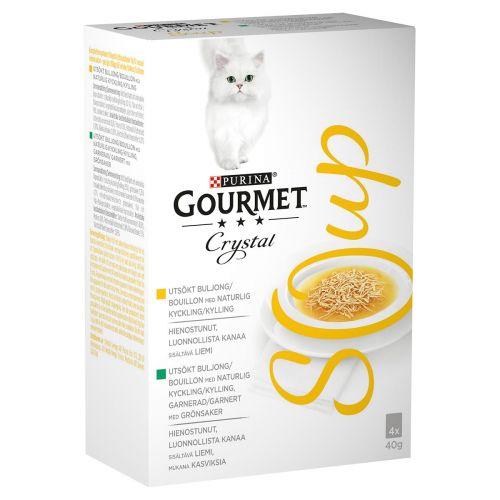 PURINA GOURMET CRYSTAL SOUP LAJITELMA 40G 4-PACK 160 G