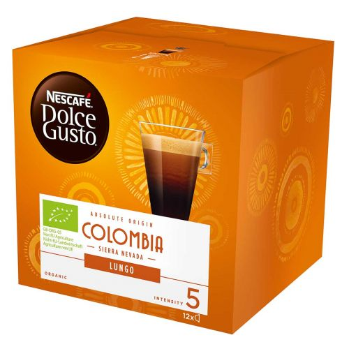 NESCAFE DOLCE GUSTO LUNGO COLOMBIA 12KAPS LUOMU 84 G