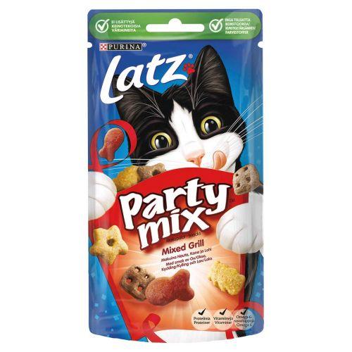 PURINA LATZ PARTY MIX MIXED GRILL 60 G
