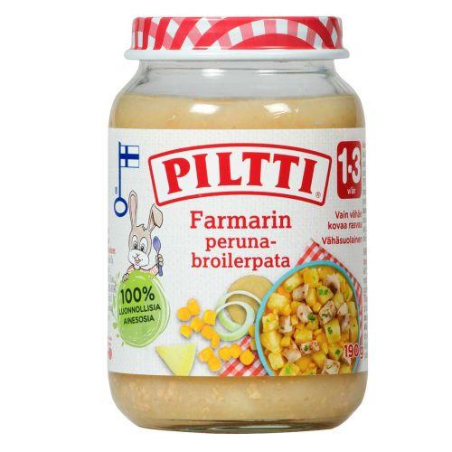 PILTTI FARMARIN PERUNA-BROILERPATA 1-3V 190 G