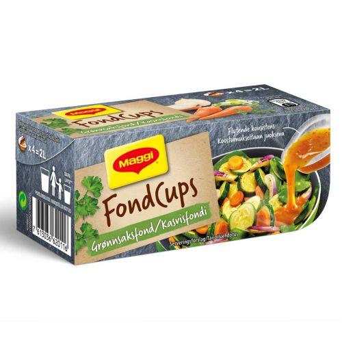 MAGGI FOND CUPS KASVISFONDI 96 G