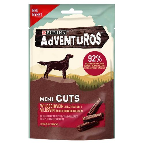 PURINA ADVENTUROS MINI CUTS  70 G