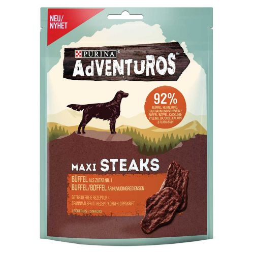 PURINA ADVENTUROS MAXI STEAKS  70 G