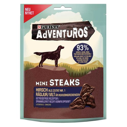 PURINA ADVENTUROS MINI STEAKS  70 G