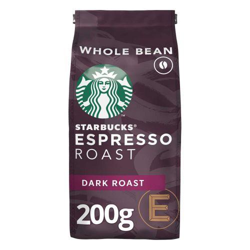 STARBUCKS DARK ESPRESSO ROAST BEAN 200 G