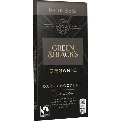 G&B ORGANIC DARK 85% 90 G