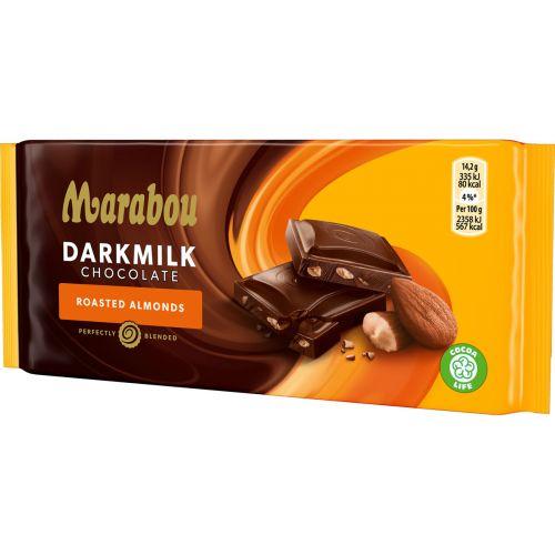 MARABOU DARKMILK ROASTED ALMONDS 85 G
