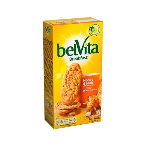 LU Belvita hunaja-pähkinä välipalakeksi 300g