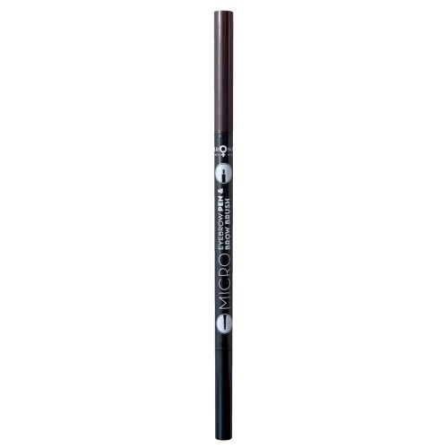 BRONX COLORS MICRO EYEBROW PEN & BROW BRUSH 0,05 G, 04 SOFT BRO