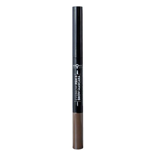 BRONX COLORS 2 IN 1 EYEBROW PEN & BROW MASCARA 0,25 ML + 1,2 G,