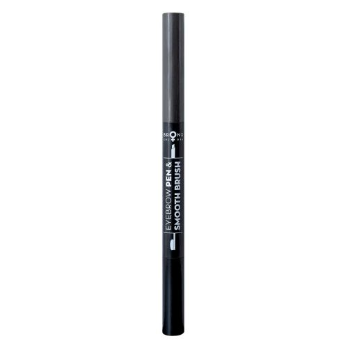 BRONX COLORS 2 IN 1 EYEBROW PEN & SMOOTH BRUSH 0,25 G, 05 GREY