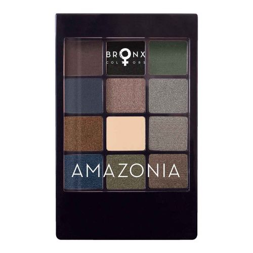 BRONX COLORS EYESHADOW SEASON PALETTE 12 COL. 12 G, 02 AMAZONIA