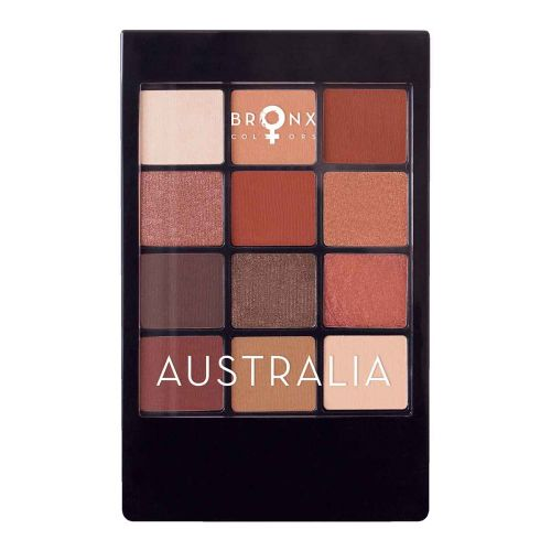 BRONX COLORS EYESHADOW SEASON PALETTE 12 COL. 12 G, 03 AUSTRAL