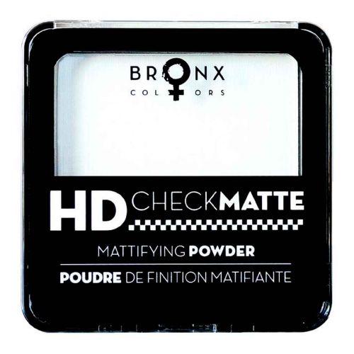 BRONX COLORS HD CHECK MATTE MATTIFYING FINISHING POWDER 12 G,