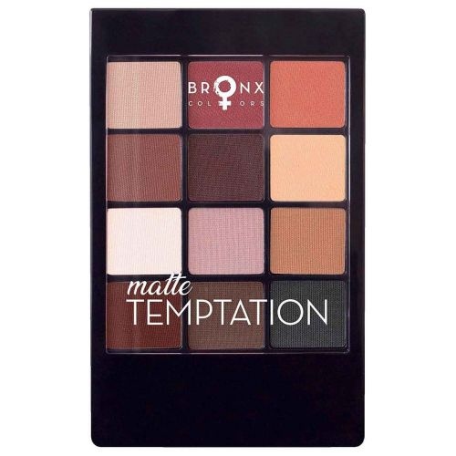 BRONX COLORS EYESHADOW SEASON PALETTE 12 COL. 12 G, 04 MATTE TE