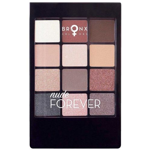 BRONX COLORS EYESHADOW SEASON PALETTE 12 COL. 12 G, 06 NUDE FOR