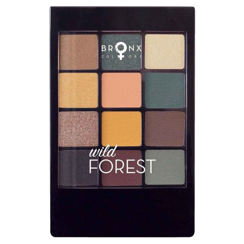 BRONX COLORS EYESHADOW SEASON PALETTE 12 COL. 12 G, 07 WILD FO