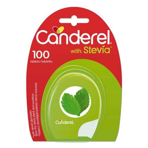 CANDEREL STEVIA-SUKRA 100KPL 100 KPL