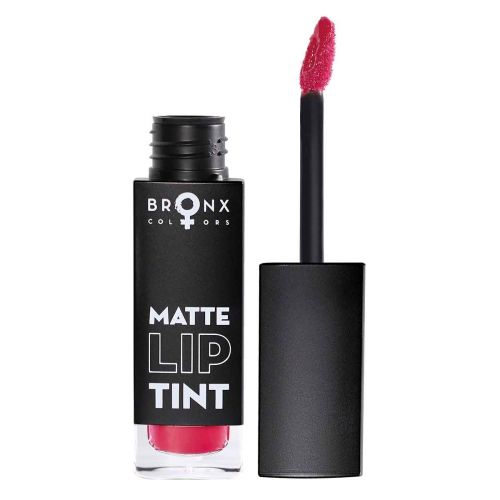BRONX COLORS MATTE LIP TINT 5 ML, 12 HOT RED
