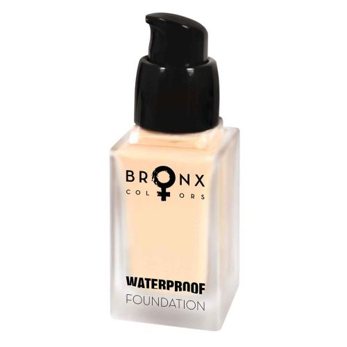 BRONX COLORS WATERPROOF FOUNDATION 20 ML, 03 NUDE