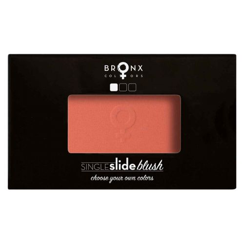 BRONX COLORS SINGLE SLIDE BLUSH 4 G, 08 GRAPEFRUIT