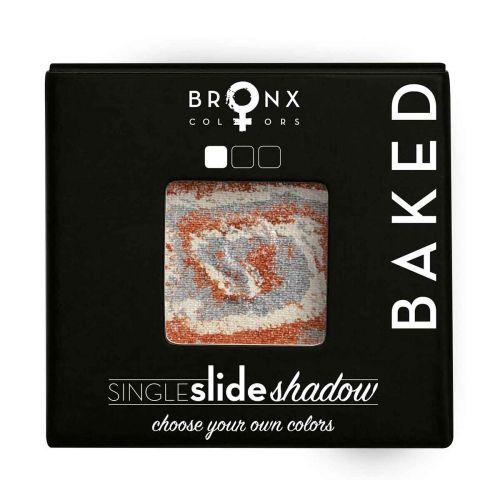 BRONX COLORS SINGLE SLIDE BAKED SHADOW 2 G, 02 JUPITER