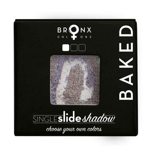BRONX COLORS SINGLE SLIDE BAKED SHADOW 2 G, 08 MERCURY