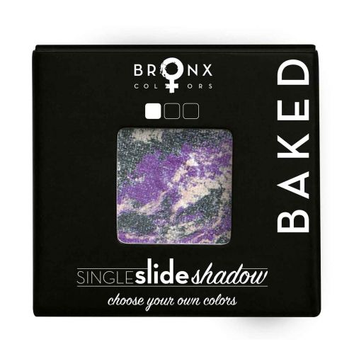 BRONX COLORS SINGLE SLIDE BAKED SHADOW 2 G, 10 GALAXY