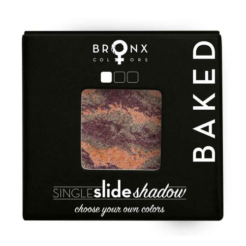 BRONX COLORS SINGLE SLIDE BAKED SHADOW 2 G, 12 SATURN