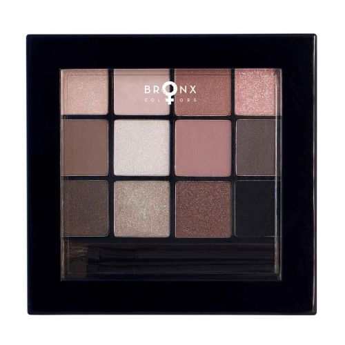 BRONX COLORS EYESHADOW SEASON PALETTE 12 COL. 13 G, 01 FIDJI