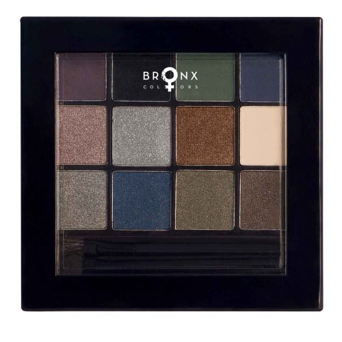 BRONX COLORS EYESHADOW SEASON PALETTE 12 COL. 13 G, 02 AMAZONIA