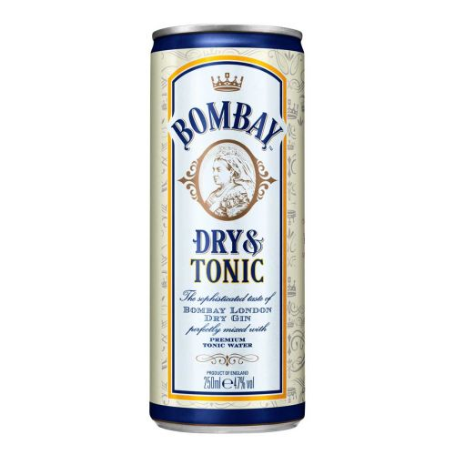 BOMBAY TONIC 4,7% TLK 250 ML