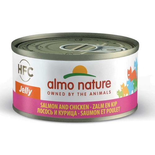 BEST FRIEND ALMO NATURE CATS HFC NATURAL LOHI JA KANA 70 G