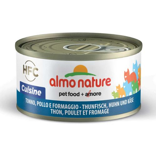 BEST FRIEND ALMO NATURE CATS HFC CUISINE TONNIKALA, KANA JA JUU 70 G