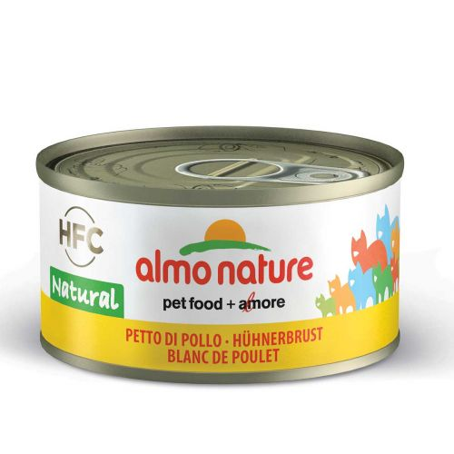BEST FRIEND ALMO NATURE CATS HFC NATURAL KANANRINTA MÄRKÄRUOKA 70 G